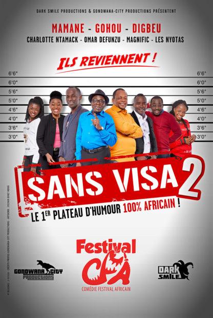 gala humour africain sans visa vis
