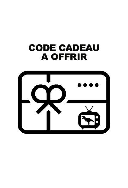 code cadeau streaming humour