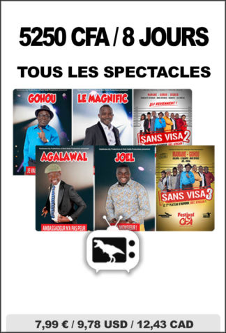 pack complet speclacle gondwana tv